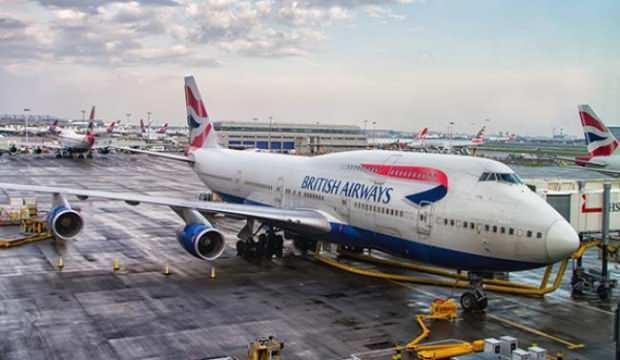 British Airways Çin'e uçuşları durdurdu!