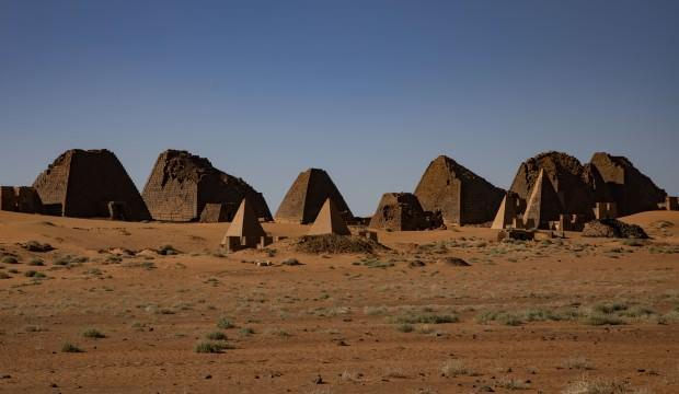 Çölün ortasında saklı hazine: Sudan Meravi Piramitleri