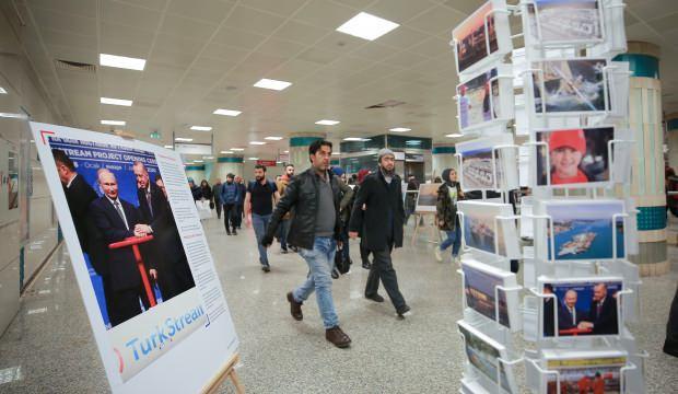 Dev projenin öyküsü ziyaretçilere açıldı