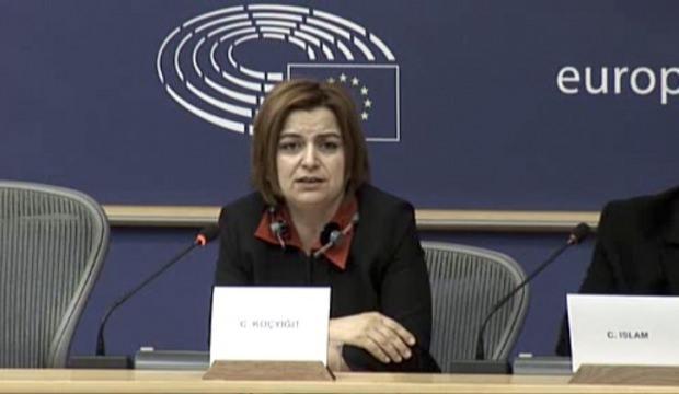 Avrupa Parlamentosu'nda skandal PKK propagandası!