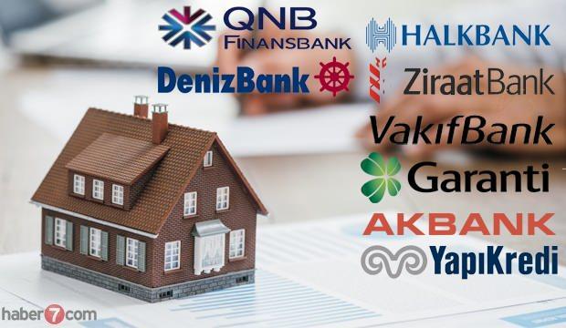 En düşük Konut Kredisi veren bankalar? Ziraat bankası Vakıfbank Halkbank kredi faiz oranları!