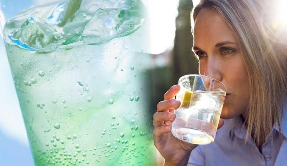 Limonlu maden suyu zayıflatır mı? Maden suyu ile kilo verme kürü