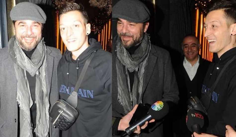 Mesut Özil ve Engin Altan Düzyatan bir araya geldi