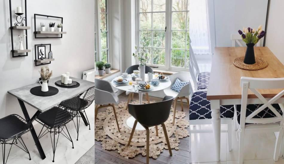 Mutfak masası dekorasyonları! Mutfak masası modelleri 2020