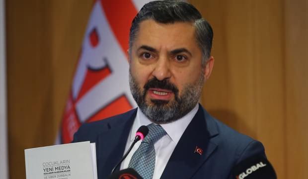 RTÜK Başkanı Şahin'den cezalarla ilgili açıklama!
