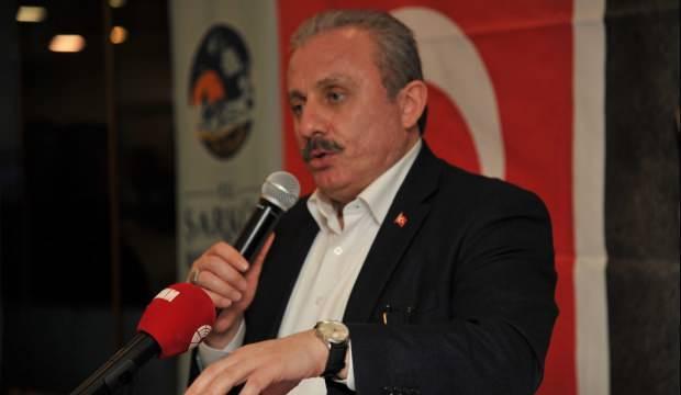 TBMM Başkanı Şentop'tan KKTC Cumhurbaşkanı Akıncı'ya tepki