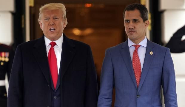 Beyaz Saray'da dikkat çeken saatler! Trump ve Guaido Beyaz Saray'da görüştü
