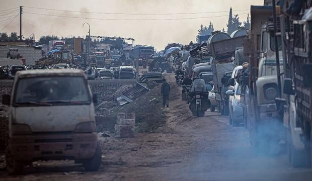 Esed'in saldırıları devam ediyor: 4 günde 90 bin sivil göç etti