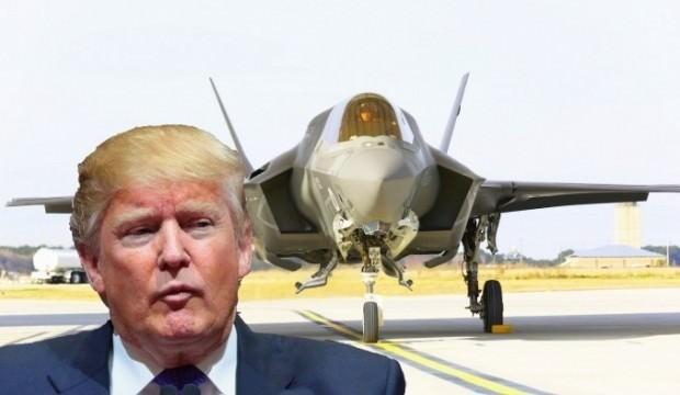 ABD'den sürpriz hamle! Trump F-35'in başını yaktı