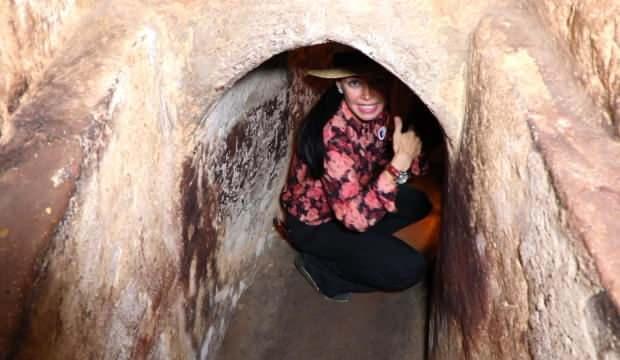 Chu Chi tünellerinden etkileyici kareler