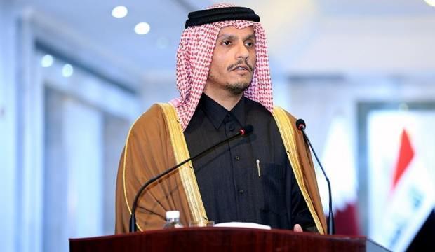Ve Katar'dan beklenen açıklama geldi: Tamamen durduruldu