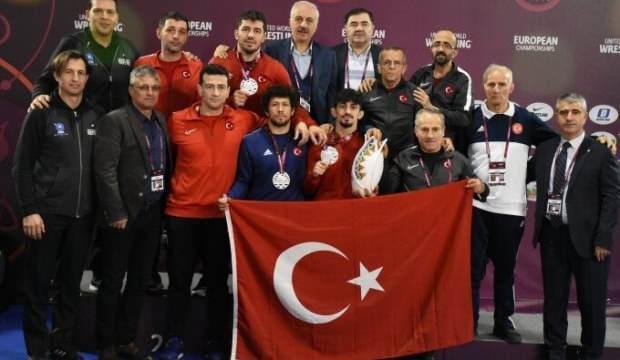 Türkiye Avrupa Şampiyonası'nda üçüncü