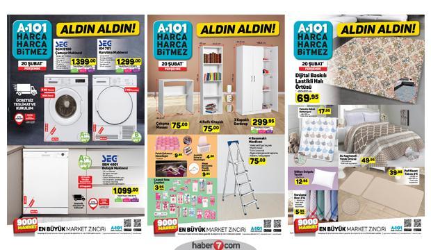 21 Şubat A101 Aktüel | Tüm katalog ürünlerinde indirim!