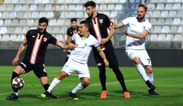 Adanaspor ile BB Erzurumspor yenişemedi