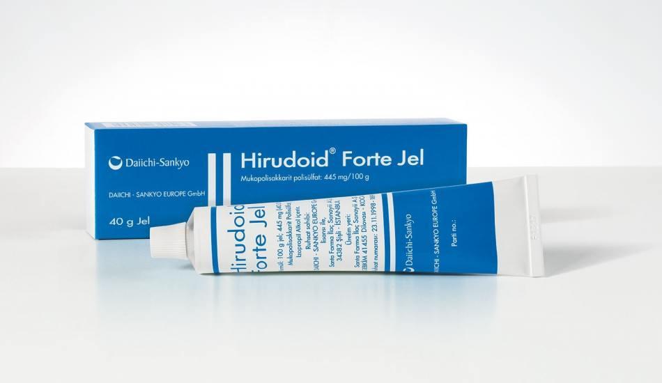 Hirudoid Forte Jel faydaları! Hirudoid Forte Jel kullanım kılavuzu! Hirudoid Forte Jel fiyatı