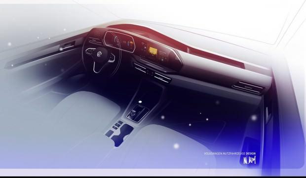 İşte Yeni 2021 Volkswagen Caddy! Büyük değişim...