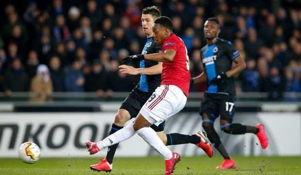 Manchester United, Brugge'den 1-1 ile çıktı
