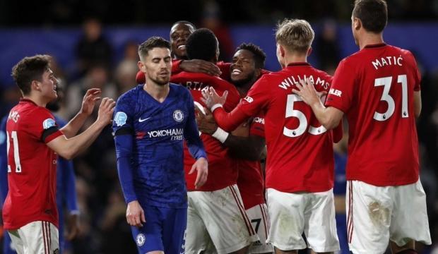 Manchester United deplasmanda Chelsea'yi mağlup etti