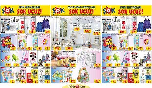 ŞOK 21 Şubat Aktüel Ürünler! Tüm katalog ürünlerinde kampanya!