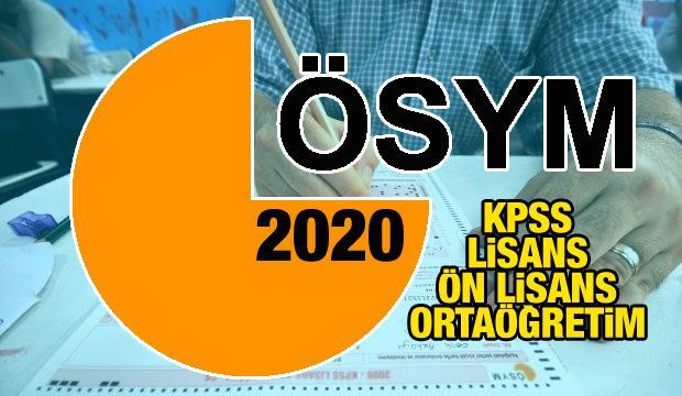 2020 KPSS başvuruları başlıyor!  Kamu Personeli Seçme Sınavı başvuru tarihleri ne zaman?