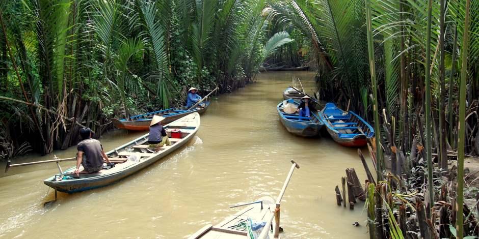 En büyük 3. doğal hazine Mekong Deltası