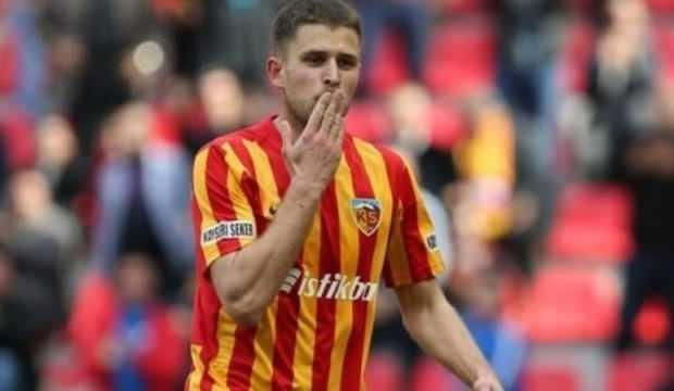 """Kayserispor'un golcüsü Kravets: """"1 puan teselli oldu"""""""