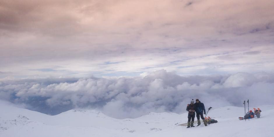 Nemrut Dağı'nın eşsiz güzelliği havadan görüntülendi