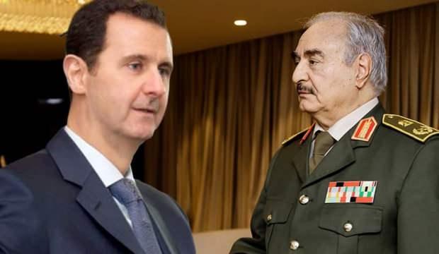 Darbeci Hafter heyetinden Esed rejimine üst düzey manidar ziyaret!