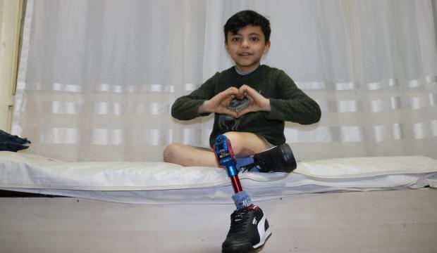 8 yaşındaki Ammar'a Türkiye sahip çıktı