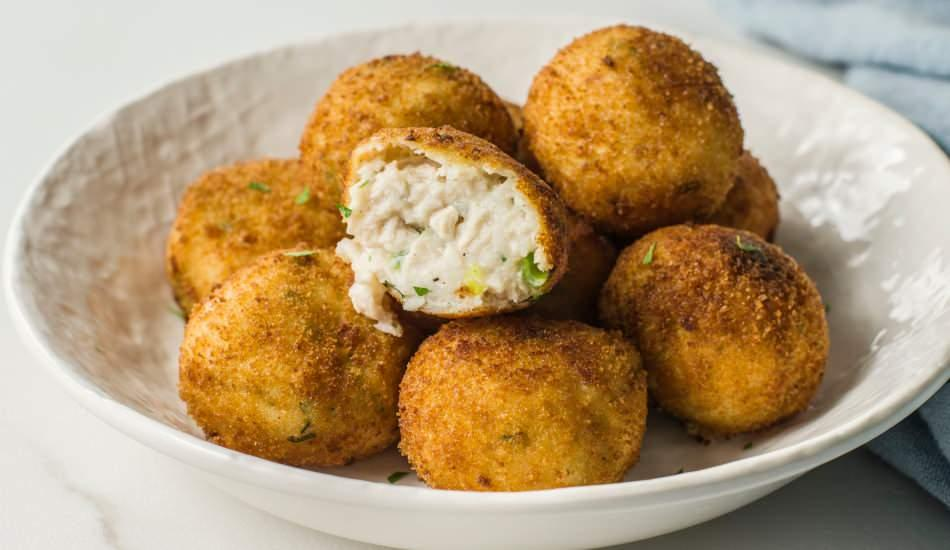 Çıtır patates kroket nasıl yapılır? Patates kroket dağılmaması için...