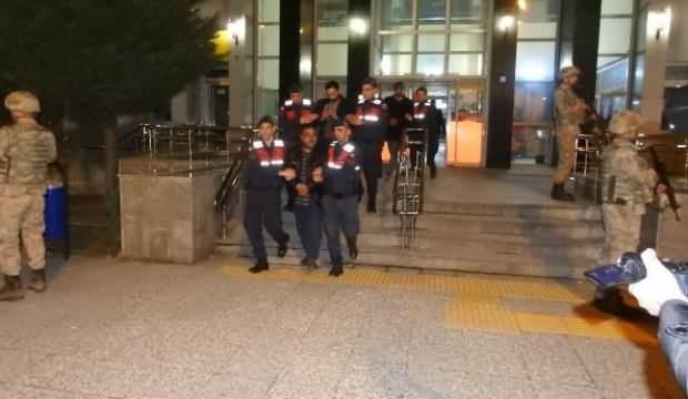 Çorum'da, 4 DEAŞ şüphelisi tutuklandı