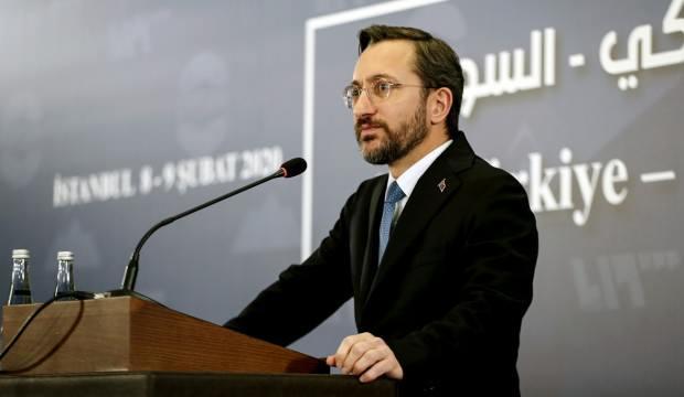 Fahrettin Altun'dan Yunanistan'a tepki: Tam bir fiyasko!