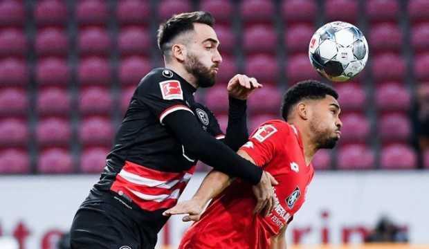 Düsseldorf bir puanı Kenan Karaman'ın golüyle aldı