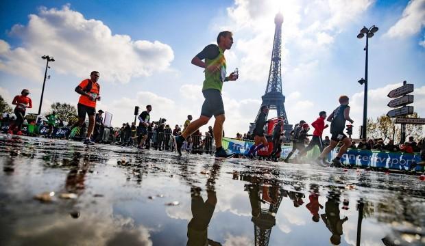 Paris'teki maratonlara koronavirüs engeli