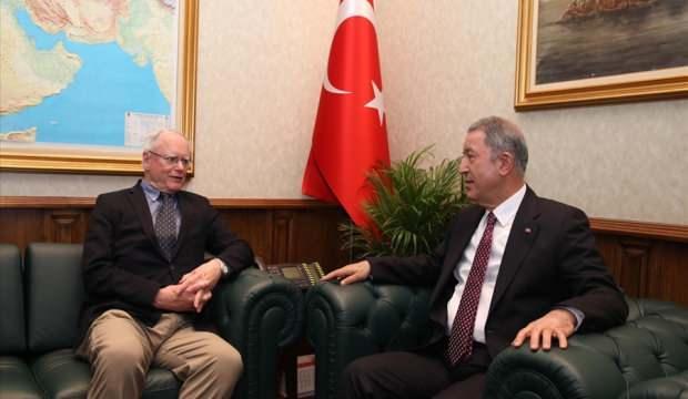 Savunma Bakanı Akar, Jeffrey ve Satterfield'i kabul etti