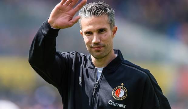 Van Persie Feyenoord'da hoca oldu