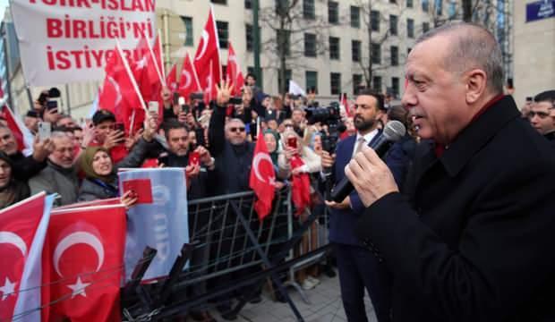 Başkan Erdoğan gurbetçileri uyardı: Aman dikkat