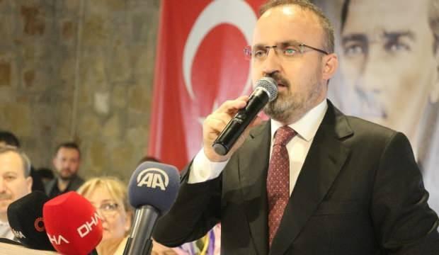 Bülent Turan: Esad'ın belediye başkanı gibi konuşuyor