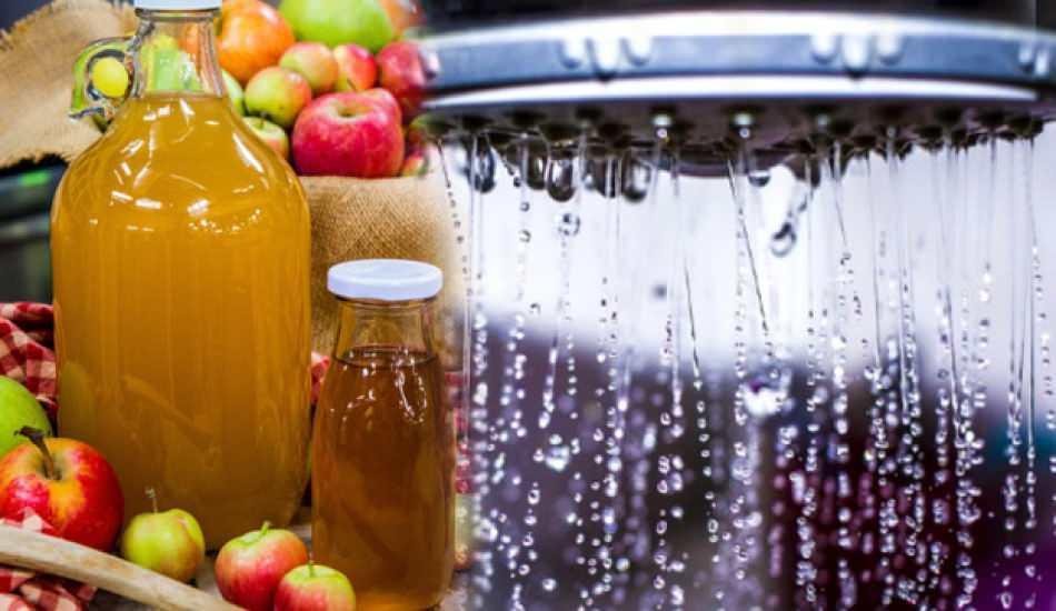 Elma sirkesi suyunun faydaları nelerdir? Duş suyunuza elma sirkesi eklerseniz ne olur?
