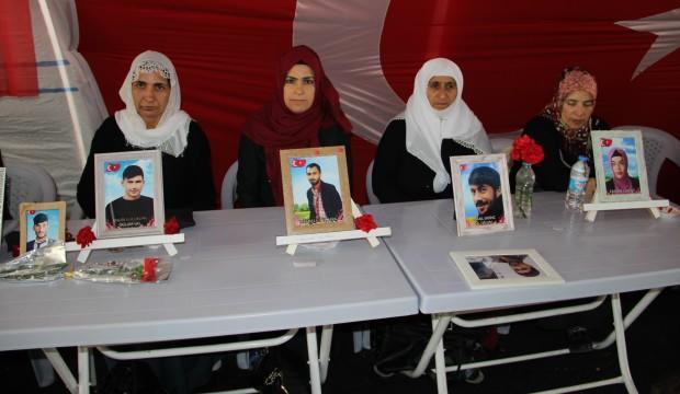 HDP önündeki evlat nöbeti 195'inci gününde