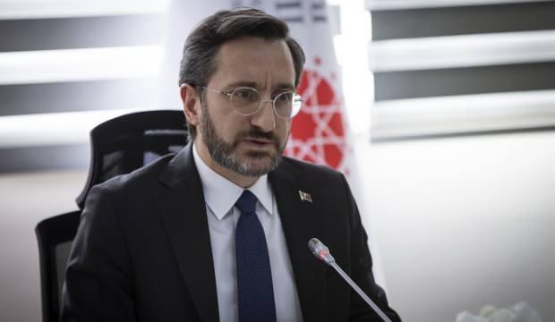 Fahrettin Altun'dan sokağa çıkma yasağı açıklaması