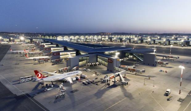 İstanbul havalimanlarında sayı arttı