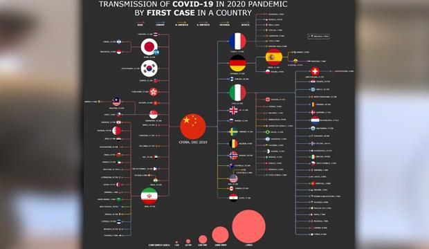 Türkiye'ye de bulaşan koronavirüsün yayılma DNA'sı ortaya çıktı! Korkutucu tablo