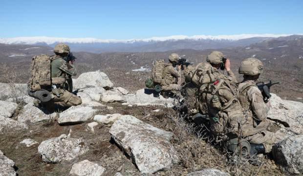 Hava destekli operasyonda PKK'ya darbe!