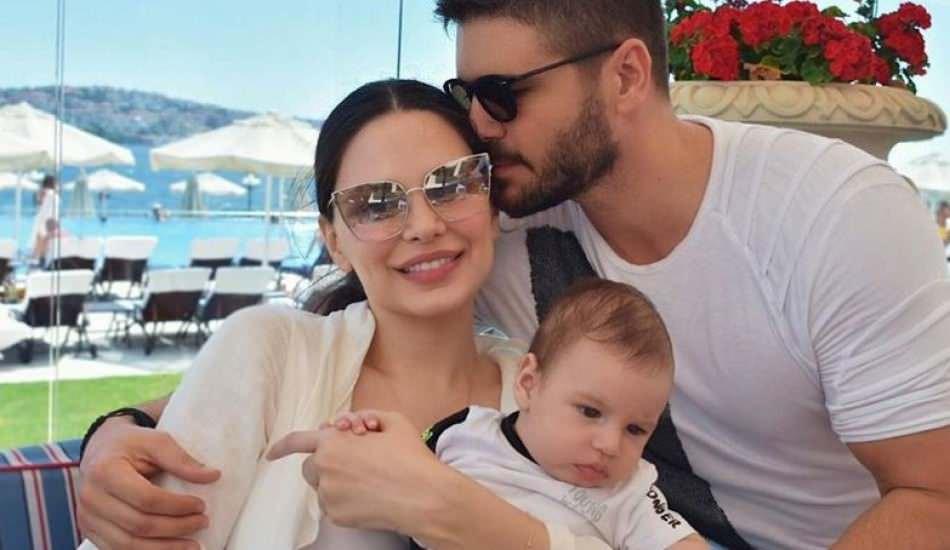 Almeda Abazi'nin oğlu Efehan sosyal medyanın fenomeni oldu!
