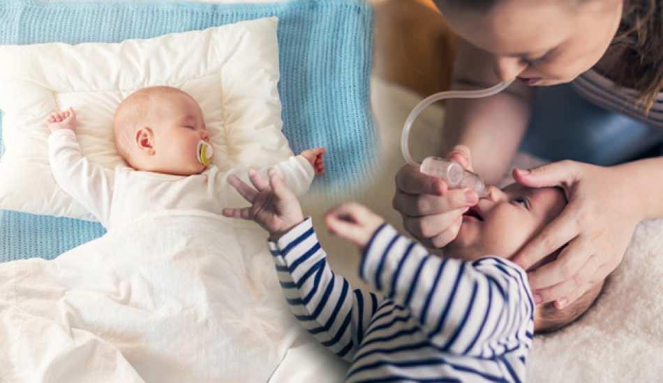 Bebeklerin burnu acıtmadan nasıl temizlenir? Bebeklerde burun tıkanıklığı ve temizleme yöntemi