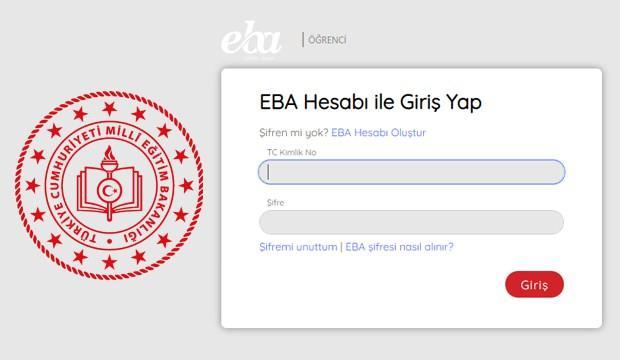 EBA öğrenci girişi yapma: 2020 EBA şifre alma işlemi