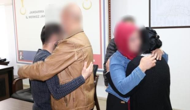 PKK'lı çift ikna yoluyla teslim oldu: Yıllar sonra aileleriyle buluştular