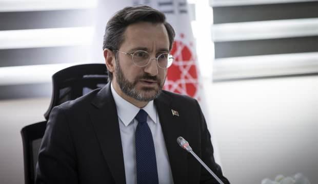 İletişim Başkanı Altun'dan koronavirüs açıklaması