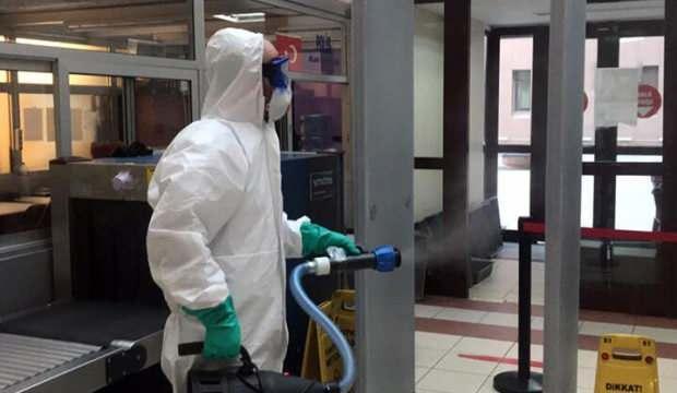 Bakırköy Adliyesi'nde ilk koronavirüs vakası